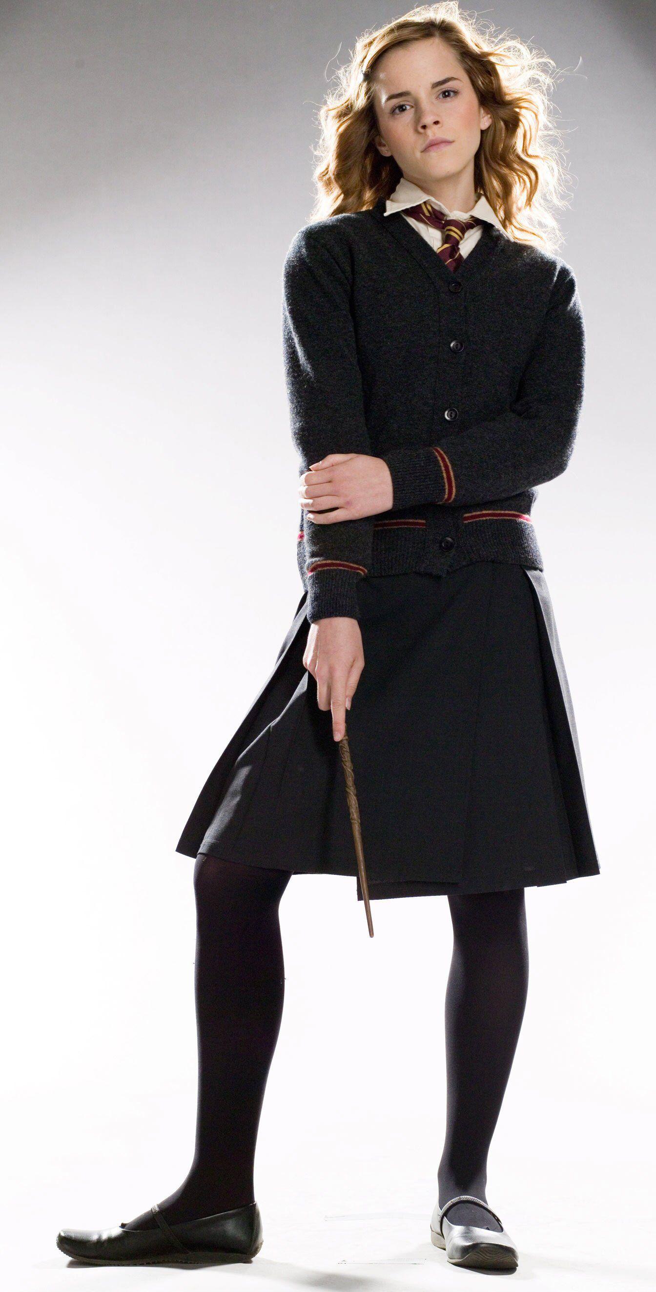 Emma Watson 2007 Harry Potter Promo Harry Potter Girl Costume Hermione Costume Harry Potter Girl