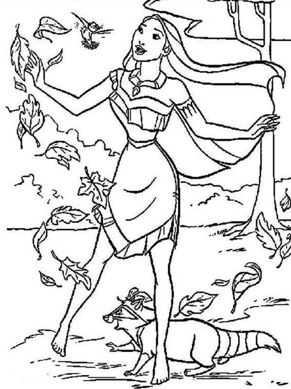 Pocahontas Strong Winds Pocahontas Coloring Pages Pinterest