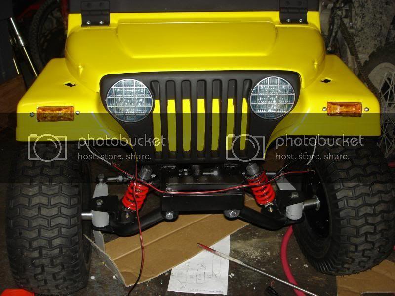Gas Power Wheels Jeep Diy Go Kart Forum In 2020 Go Kart Diy Go Kart Power Wheels Jeep