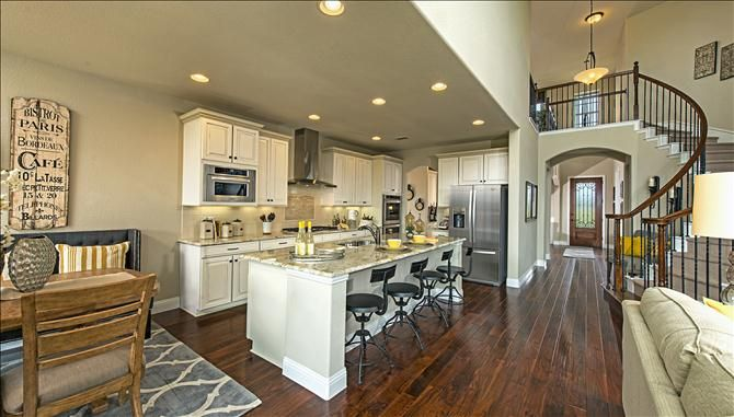 McKinney new homes Live Oak Creek Kitchen in the Madison floorplan ...