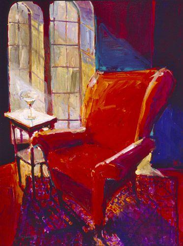 Robert Burridge Studio Interiors Red Chair Chair Art Themes