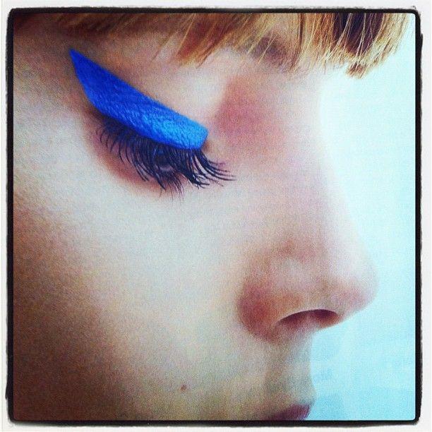bright blue cat eyes