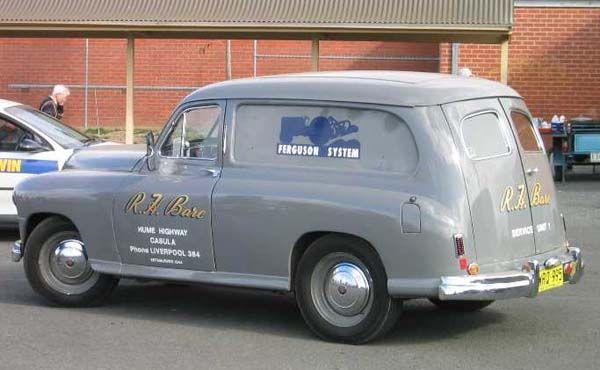 Image Result For 1948 Standard Vanguard Van Vans