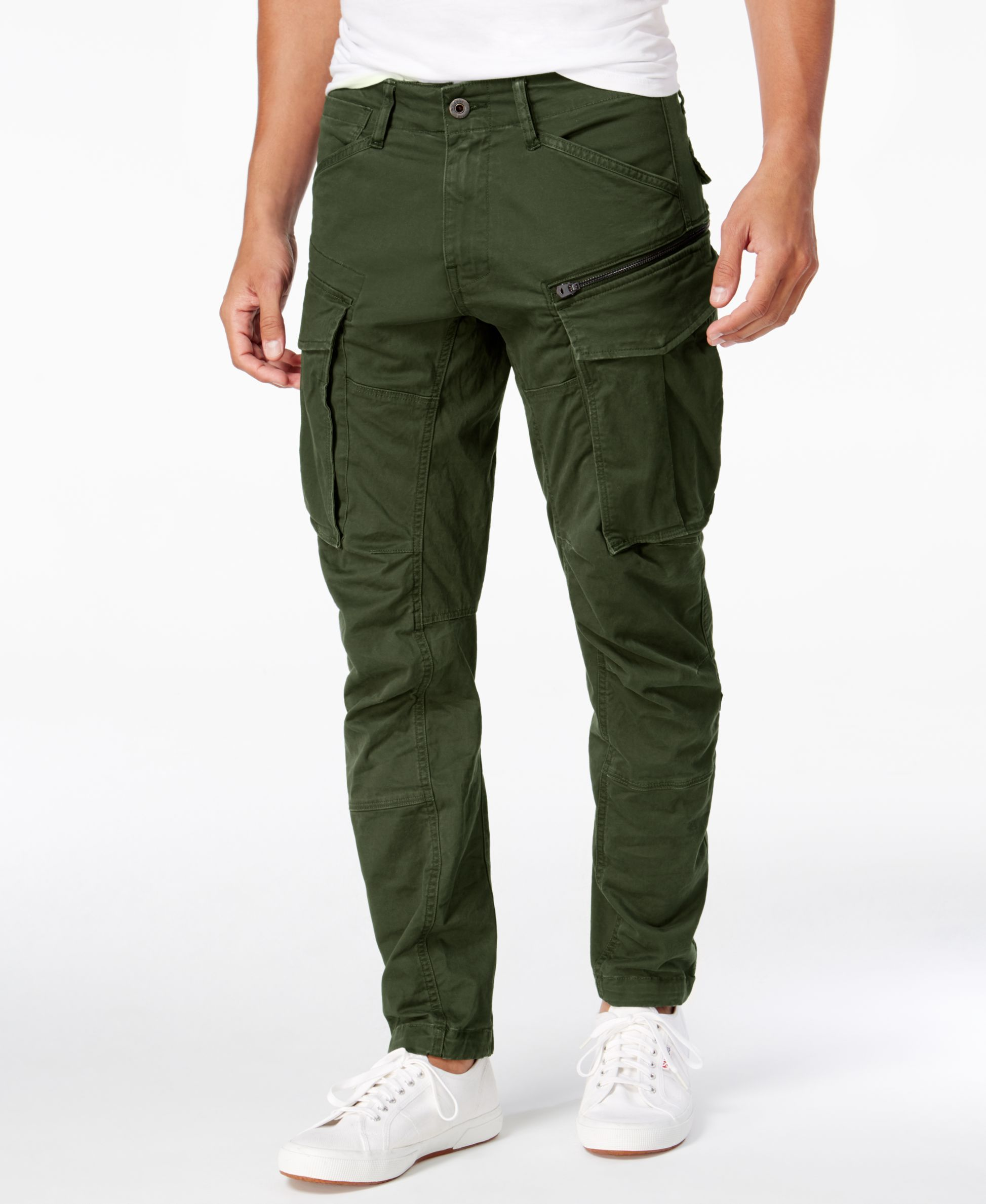 wholesale price 60% cheap shop best sellers Men's Rovic 3D Straight Tapered Fit Cargo Pants   Street ...