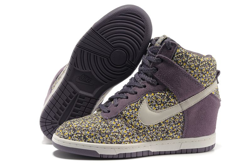 finest selection 6e5d1 92300 Womens Nike Dunk Sky High Liberty Imperial Purple Sail Shoes  Purple  Womens   Sneakers