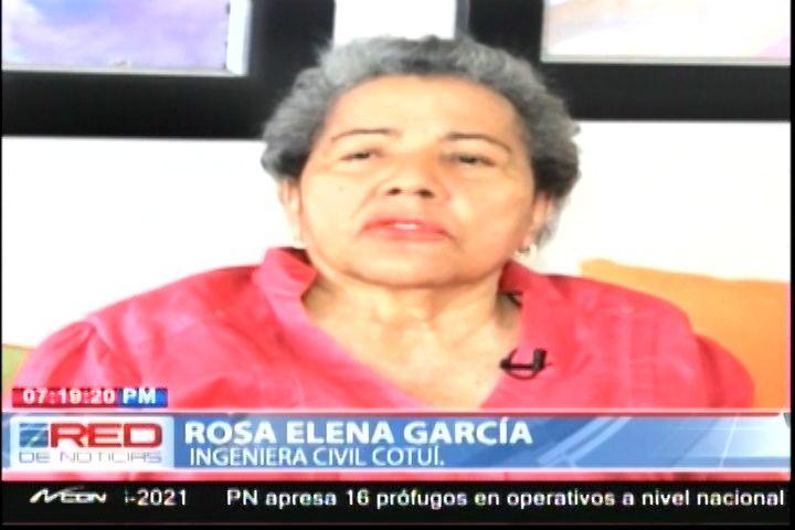 Heroina De Cotui Destacada Por Sus Obras, Aportes Y Larga Trayectoria De Servicios Al Pueblo De Cotui
