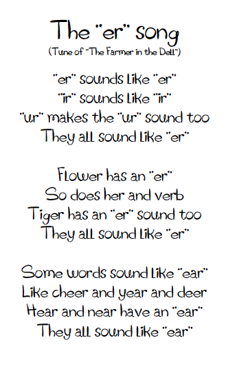 Songs in the Classroom | AMS Word Work 1st Grade | Pinterest | Poem ...