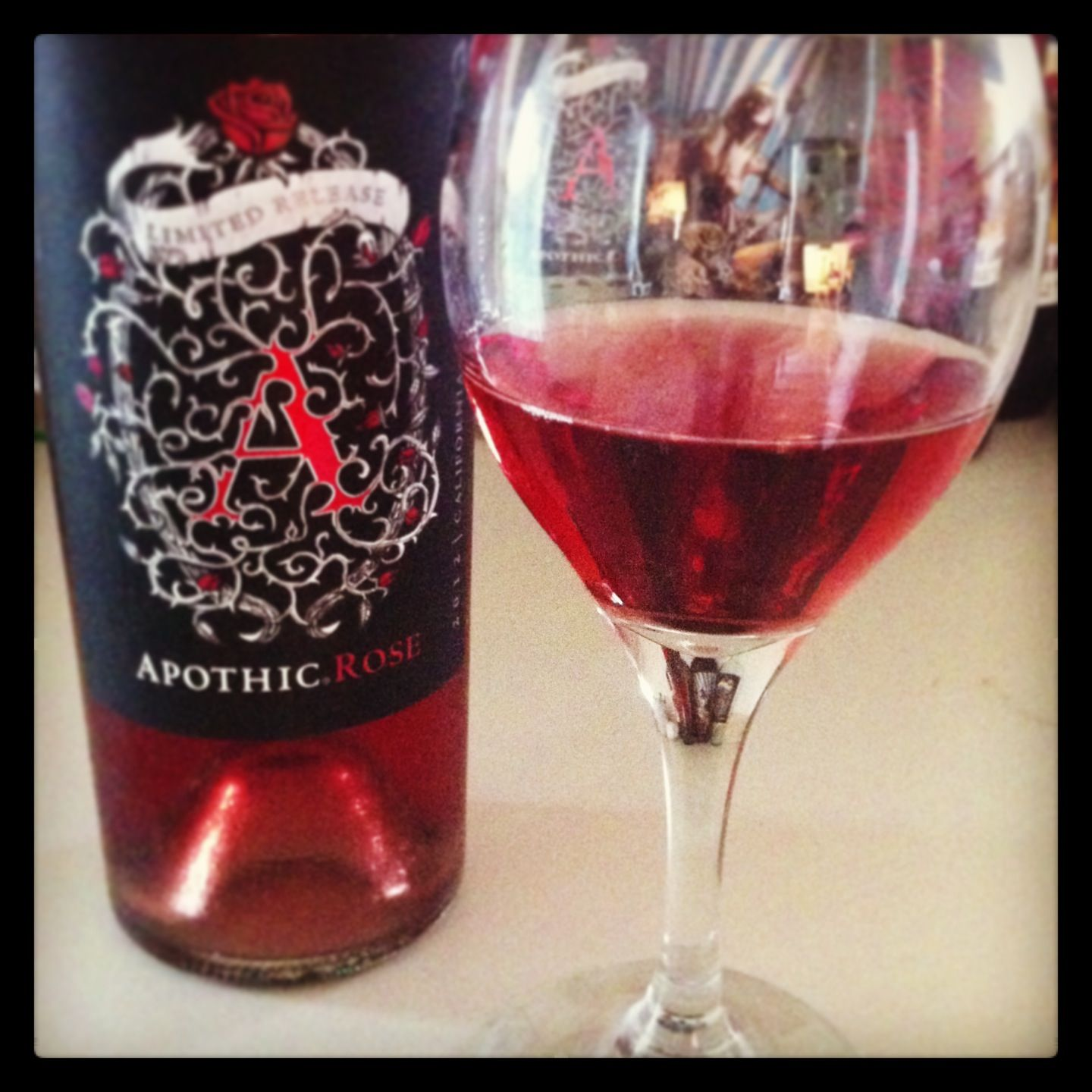 Suprised How Much I Like This Rose Wine Apothic Is The Best Apothic Wine Rose Wine Wines