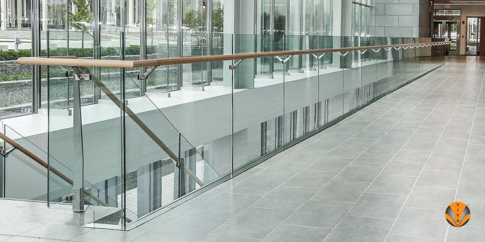 Glass Railings System Aluminum Shoe Railings Railings Pinterest Glass Railing System And