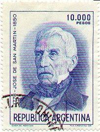 General Don José de San Martín padre de nuestra patria