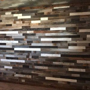 Reclaimed Wood Wall Paneling Diy 3 In Planks Largest