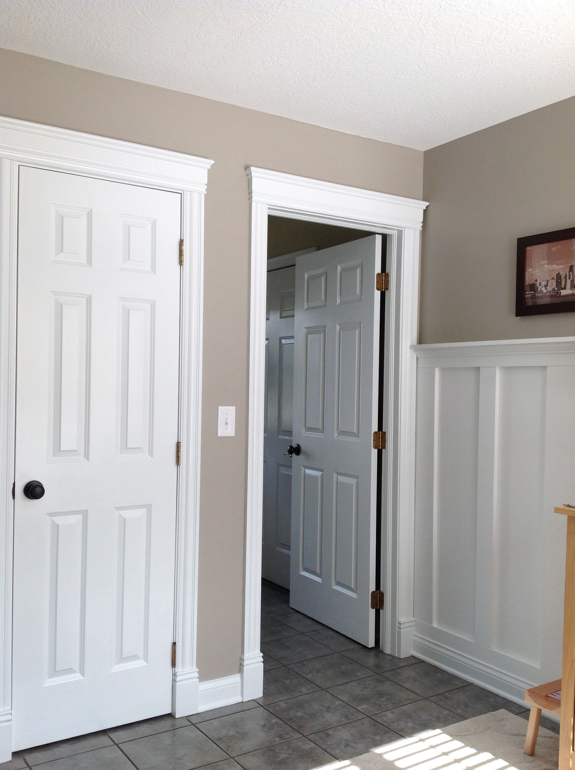 Perfect Greige Sherwin Williams Living Dining Kitchen Master Bedroom Bathroom Room Paint Colors Living Room Paint Small Basement Remodel