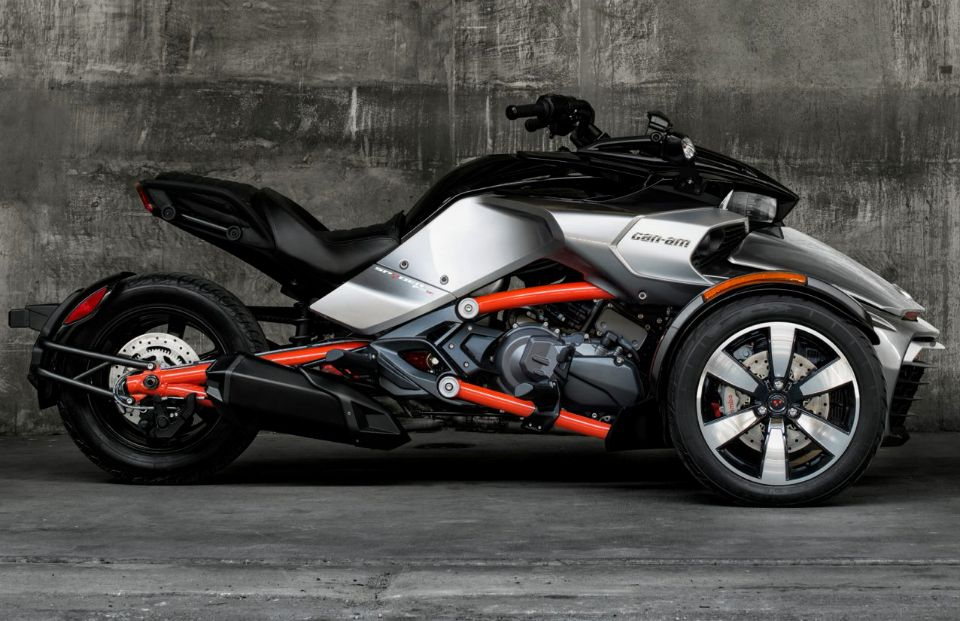2015 Can-Am Spyder F3 | MC | Pinterest | Stability, Vehicle and Third