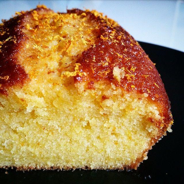 Le Fameux Gâteau à L'orange De La Mère Blanc