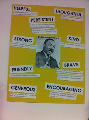 MLK Day and Character Traits