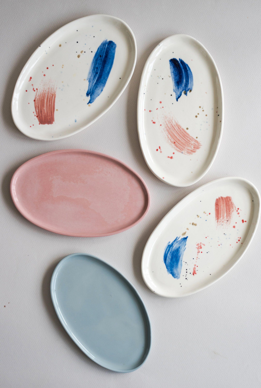 Ceramic Platter Serving Platter Oval Platter Small Platter Pottery Platter Dessert Platter Cheese Platter S In 2020 Pottery Platter Ceramic Platters Ceramic Dinnerware