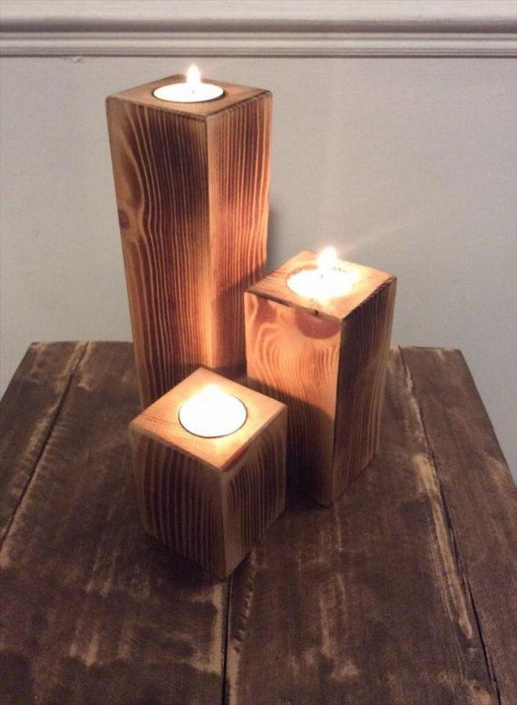 Rustic Candle Holders By AmericanRusticsByRay On Etsy