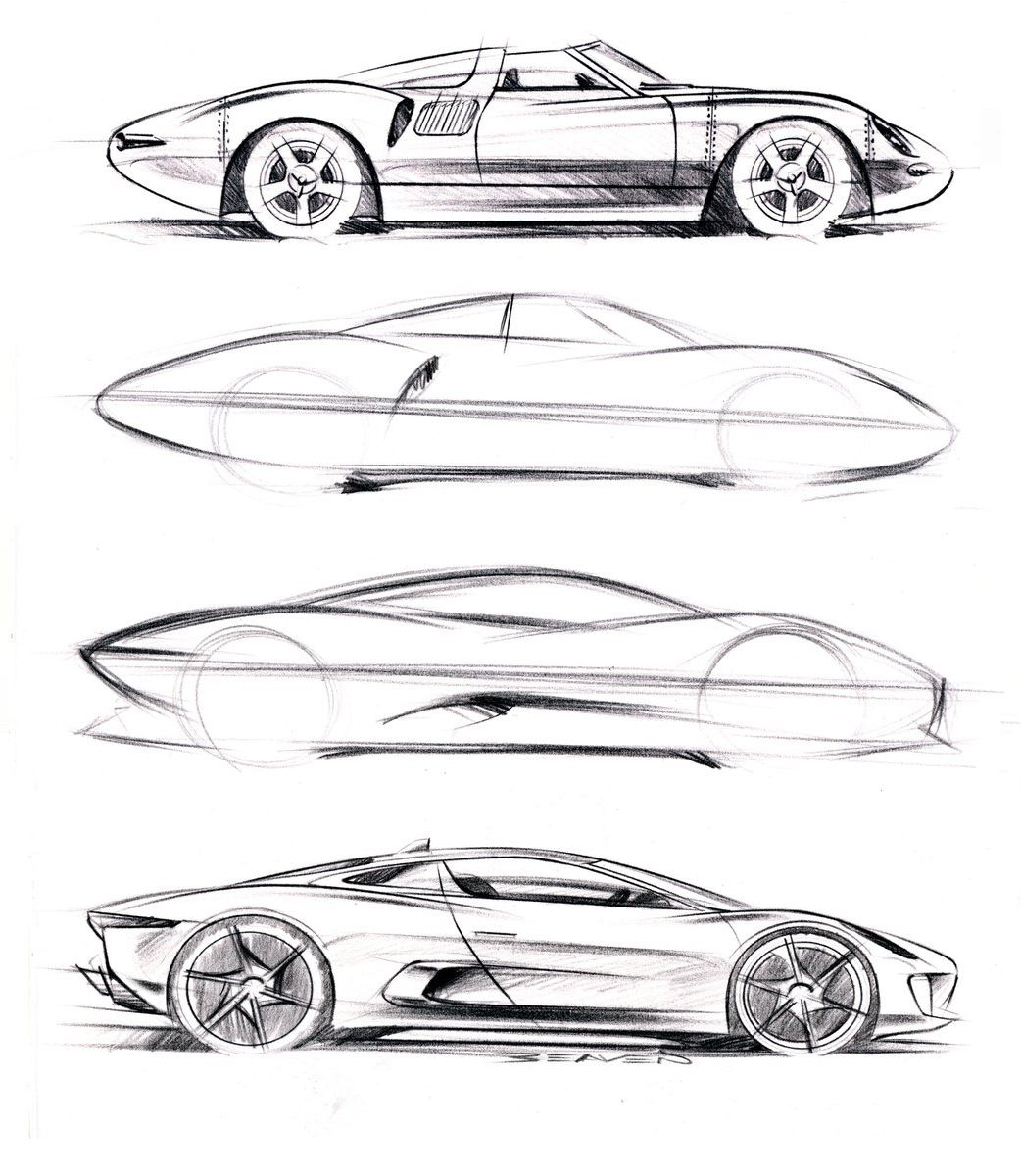 Awesome simple sketch | Ath_07 | Pinterest | Sketches, Cars and Car ...