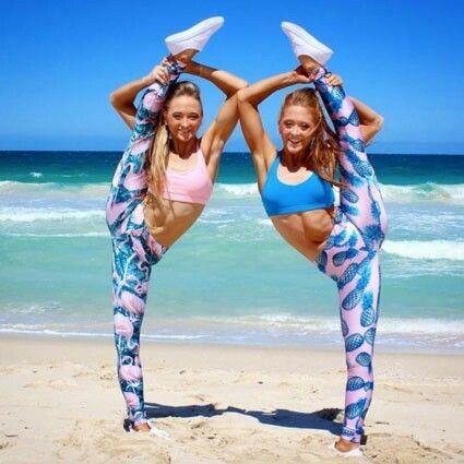 rybka twins samantha  teagan australian gymnasts