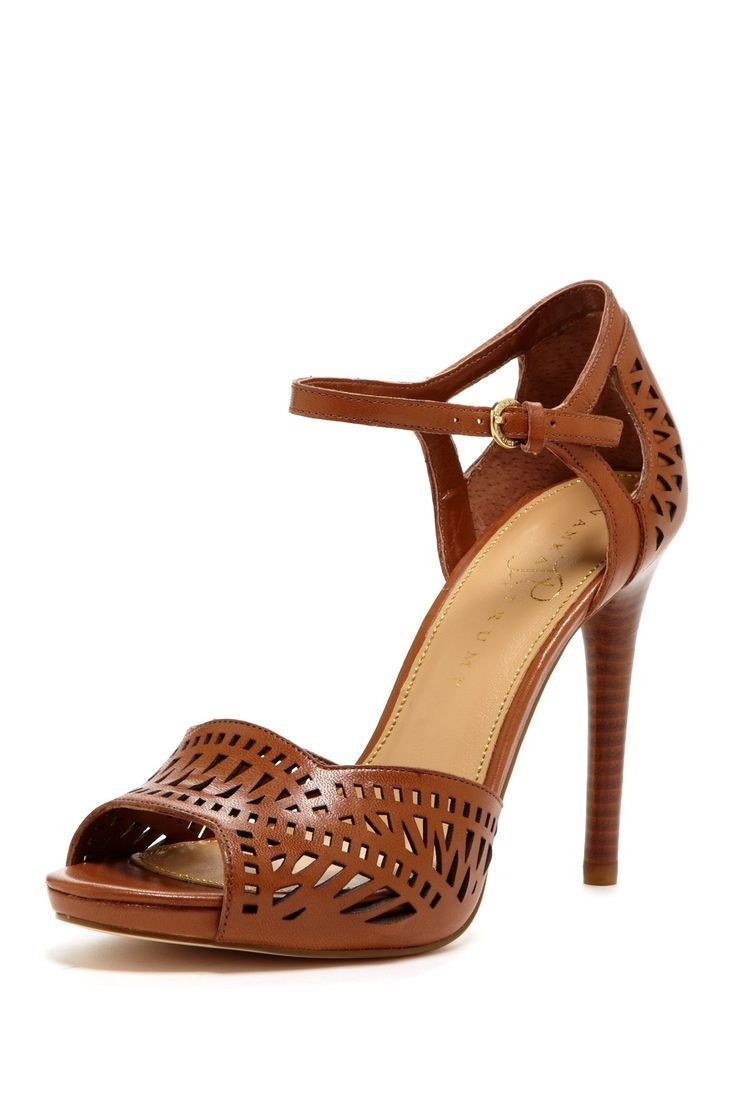 3d315a4c72df50 Peep Toe Heels. Absatz