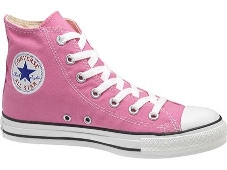 Converse Chuck Taylor All Star High Tops in  Pink