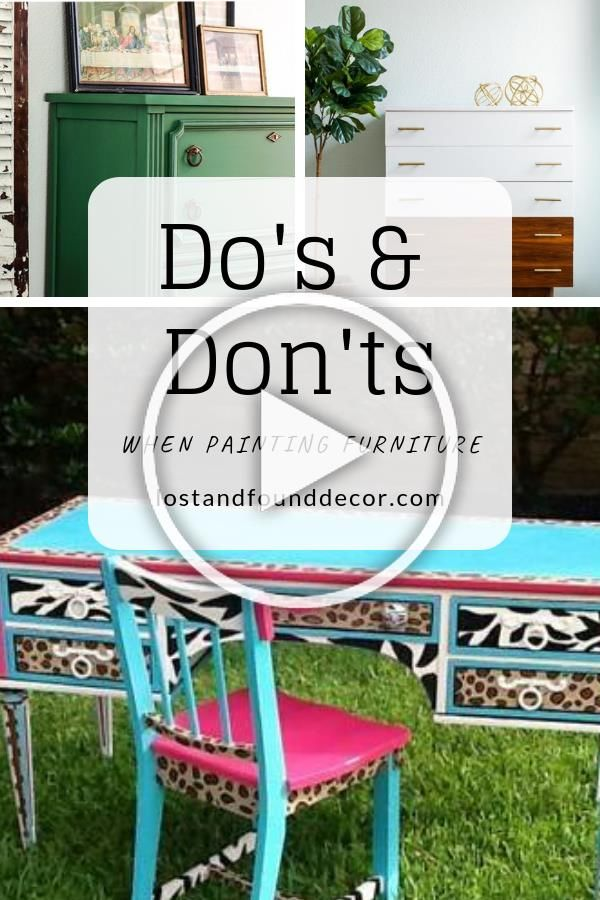 Dos and Donts when Painting Furniture by Lost and Found Decor Online Shop repurposed furniture, painted furniture, diy furniture, furniture #homedecor#diy #diyhomedecor