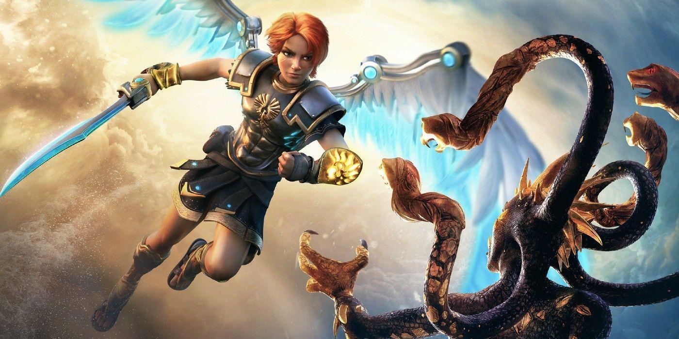 Immortals Fenyx Rising Dlc Adds A New God Gear Abilities In 2021 Immortal Ubisoft New Gods Immortals fenyx rising full hd wallpaper