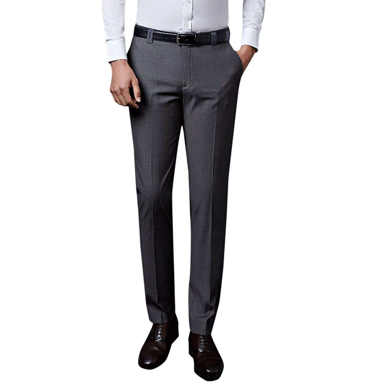 e2a41436 Slim Straight Leg Dress Pants | Saddha