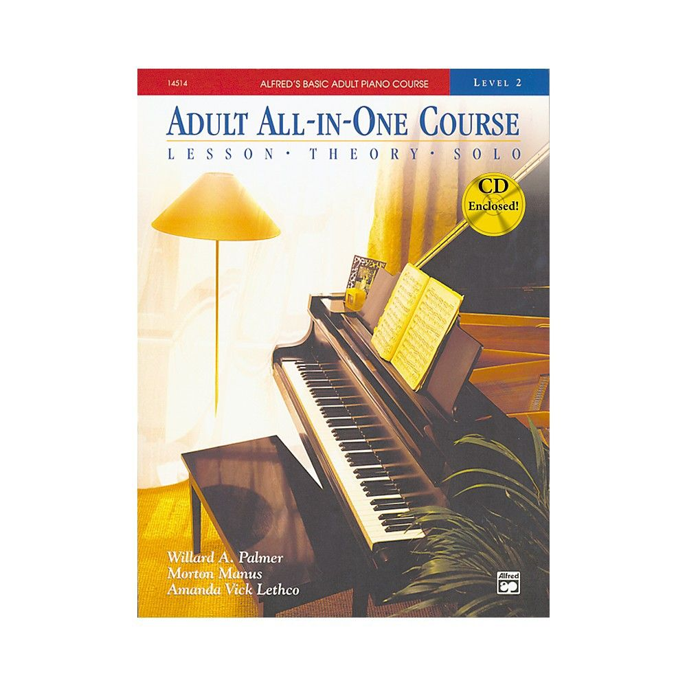 Alfred alfreds basic adult allinone piano course book 2