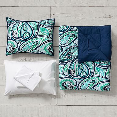 Paisley Perfect Value Comforter Set with Sheets, Pillowcase