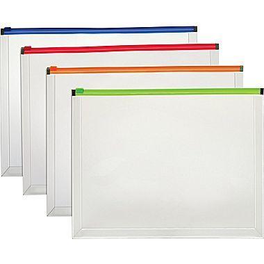Staples  Enveloppe En Poly  Fermeture  Glissire Format