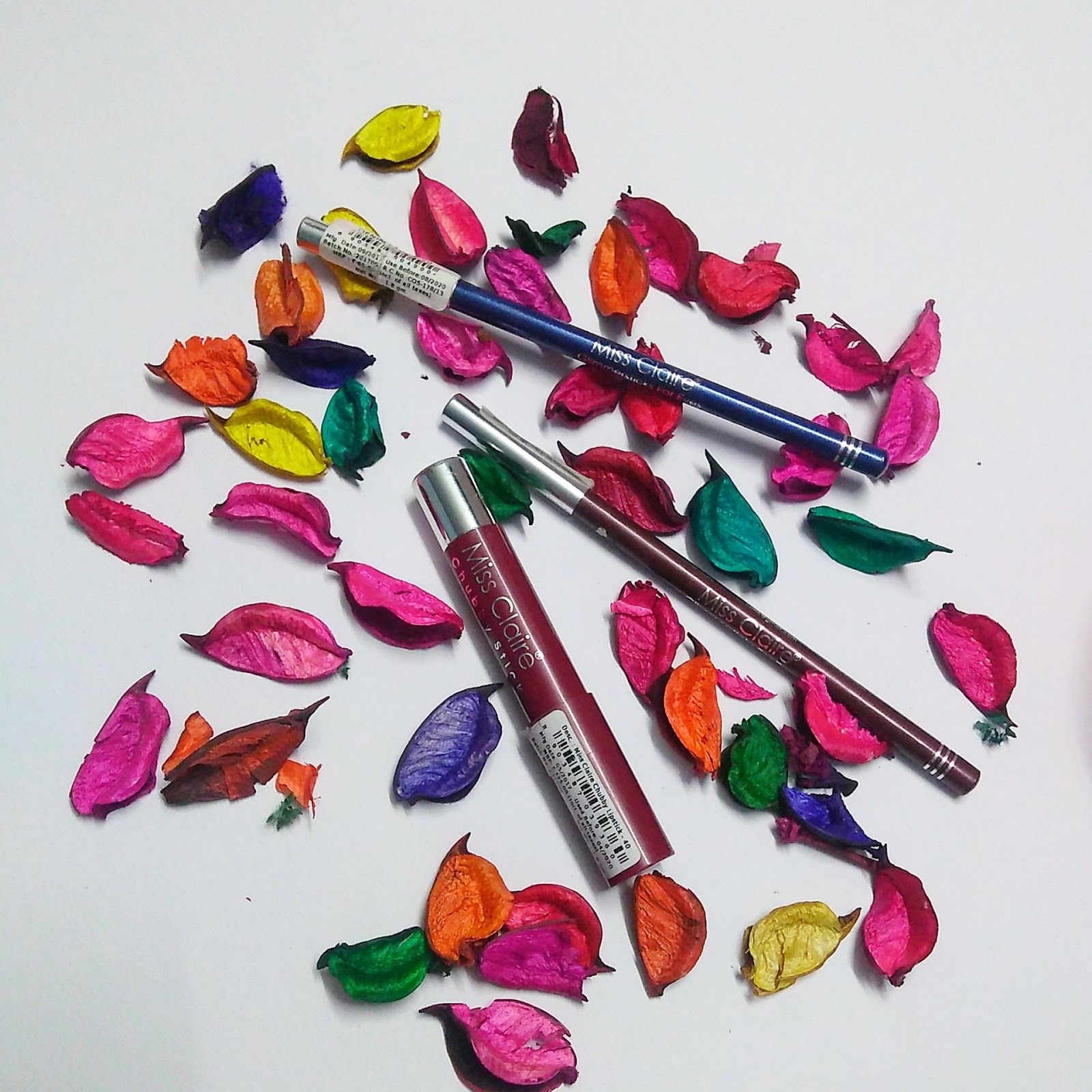 Miss Claire Lip Crayon Review & Swatches Lip crayons