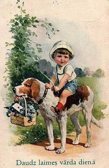 старинные открытки фото
