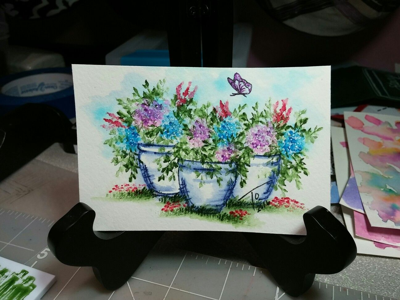 Art Impressions Watercolor Markers Art Impressions Stamps