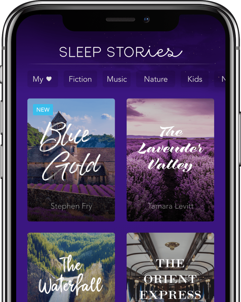 Sleep Stories Phone app Nature kids, Sleep, Guided