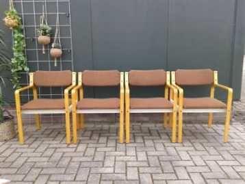 Design Pastoe Stoelen : 4x vintage pastoe stoel gemerkt deens design stoelen retro