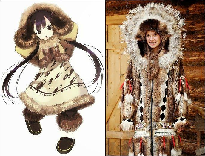 Parka : Traditional Coat of Eskimo - Clothes (Vintage, cultural ...