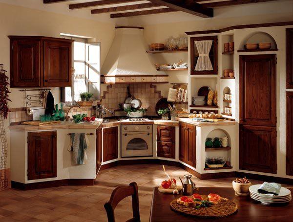 cucine in muratura - Cerca con Google | Kitchen | Pinterest ...