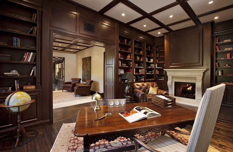 Classic Home Library Design Imposes Style To Any Adventures You Choose To  Embark On While In Your Very Own Home Library. See 30 Stunning Examples!