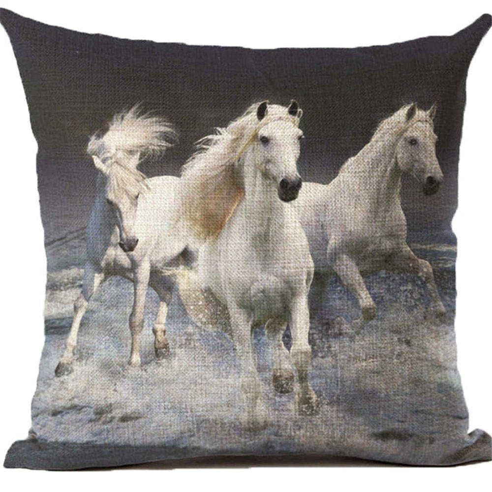 Beautiful Horse Throw Pillow Covers