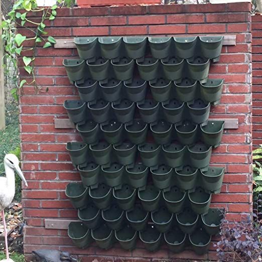 Worth Garden Olive Green Self-Watering 1 Set - 3 P