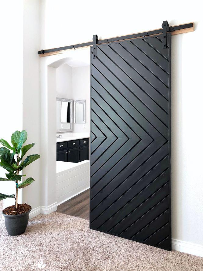 Build a Fixer Upper Style MODERN Barn Door images