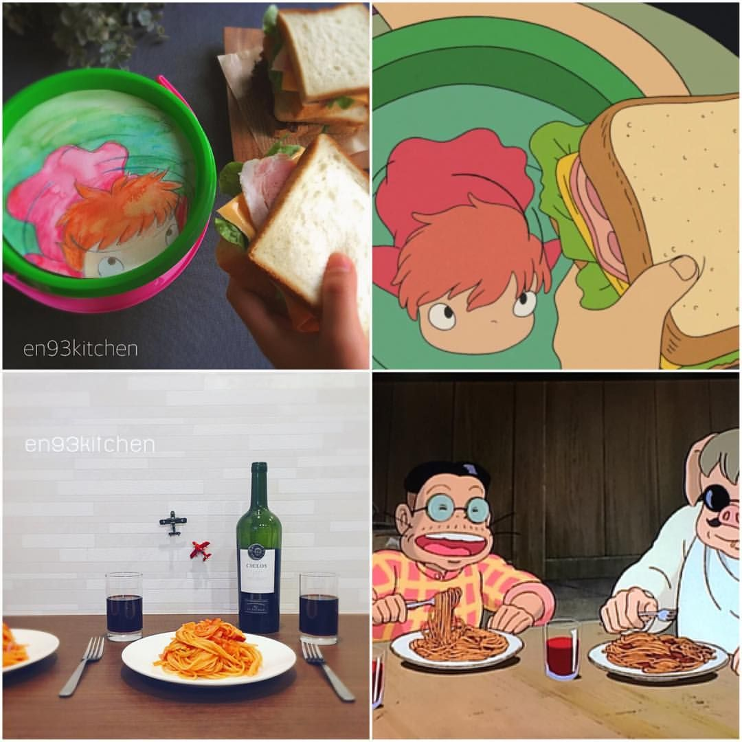 Pin By Skylar Young On Yummies Ghibli Food Food Cartoon