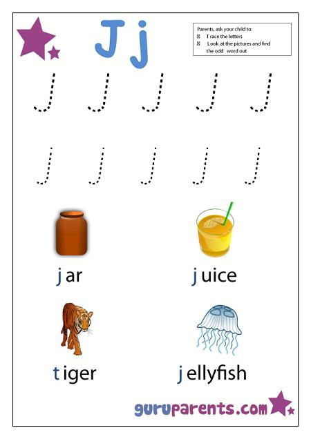 image detail for preschool letter worksheet letter j preschool ideas letter worksheets. Black Bedroom Furniture Sets. Home Design Ideas