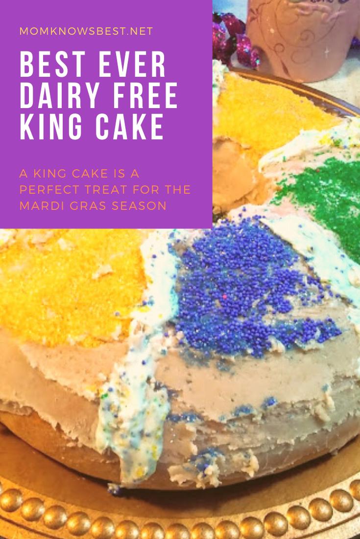 Dairy Free Mardi Gras King Cake In The Bread Machine Recipe