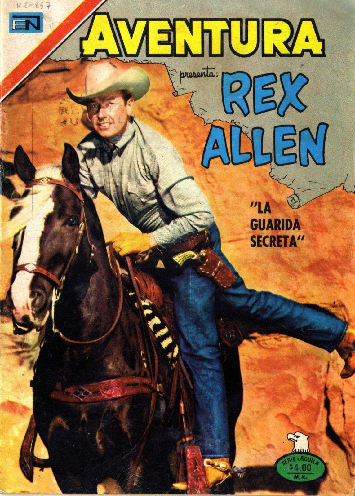 Rex Allen   gurigibi 2014: AVENTURA FAROESTE Nº857 1978 REX ALLEN