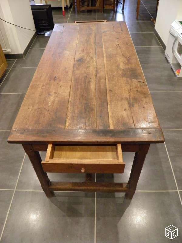 Table Ancienne En Chene Ameublement Cotes D Armor Leboncoin Fr Ameublement Mobilier De Salon Meuble