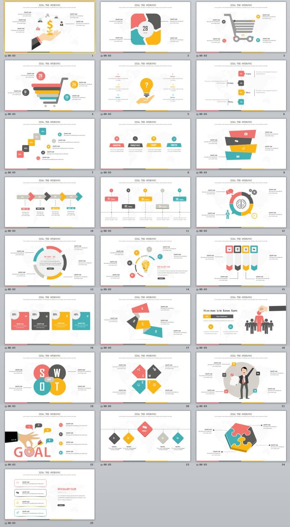 25 multicolor swot infographics charts powerpoint template 25 multicolor swot infographics charts powerpoint template ccuart Choice Image