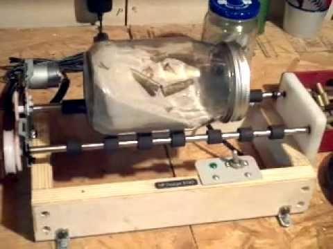 Homemade Diy Ammo Brass Tumbler Cleaner Diy Tumblers Reloading Room Homemade Tools