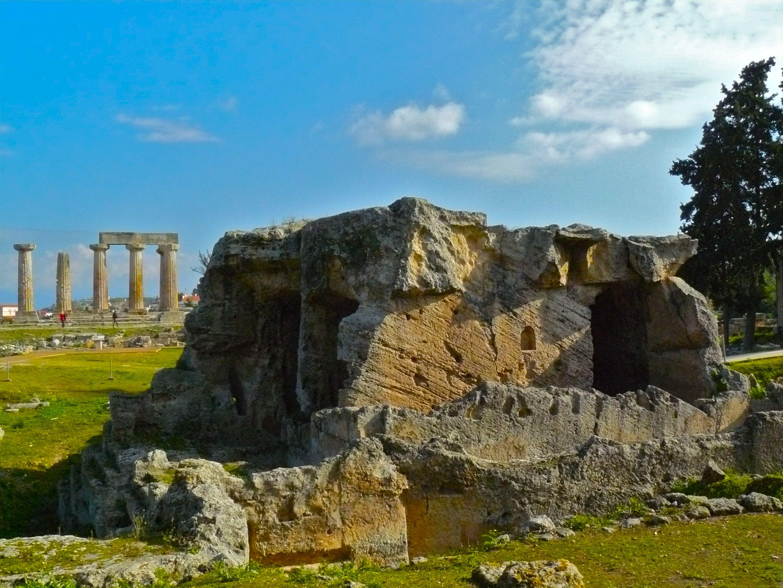 Ancient Corinth  Ancient  Pinterest